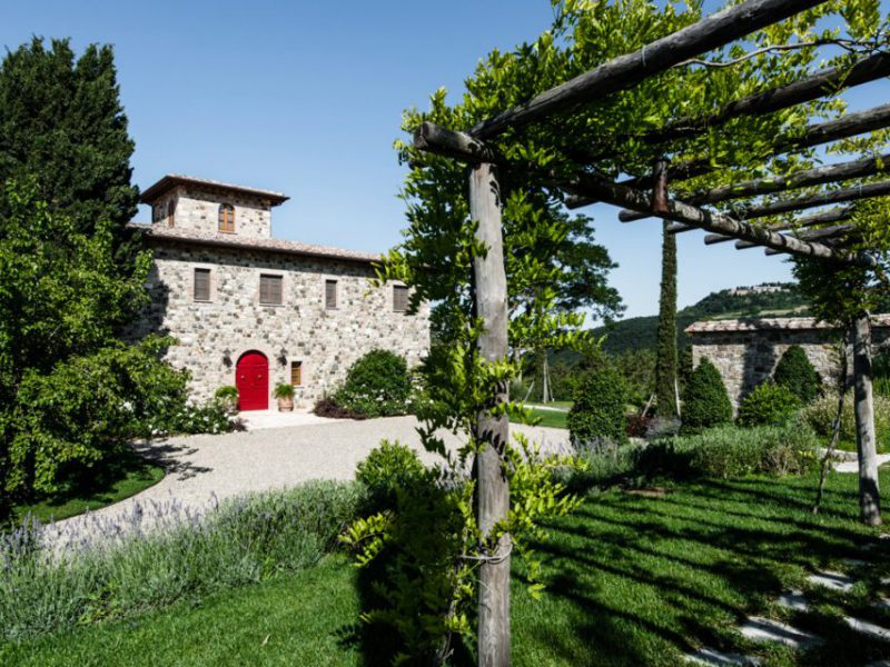 Restoration of a farmhouse in Val d'Orcia